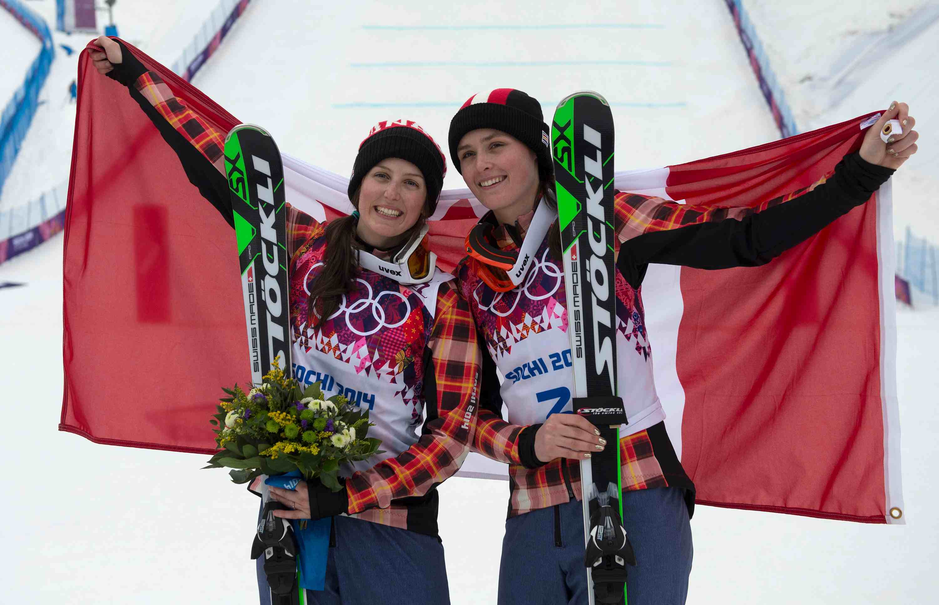 1st and 2nd for Canada Ski Cross