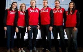 2014 Olympic Ski Cross Team